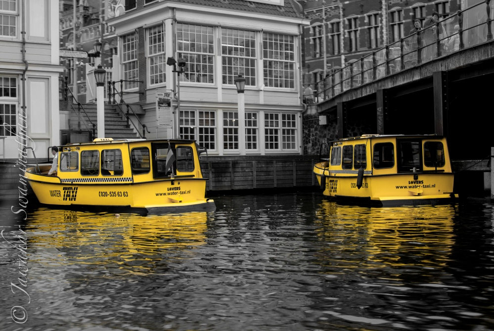 Water Taxis - Amsterdam