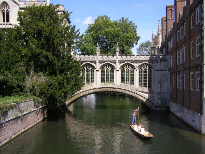 The Bridge of Sighs, St. John's College, Cambridge.